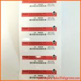 Etiqueta engomada resistente ULTRAVIOLETA del coche del vinilo del PVC de la impresión de encargo