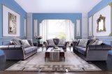 居間の家具木製フレームファブリックソファー一定S1703
