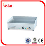 Плита с 4 регуляторами температуры, коммерчески оборудование коммерчески Griddle верхней части таблицы плоская для сбывания