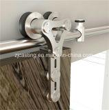 Porta deslizante de vidro para ferragens de porta deslizante de madeira