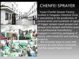 Насос лосьона шампуня поставщика фабрики зеленого цвета пластичный