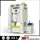 Tipo lateral reto única máquina aluída do pórtico da imprensa de potência mecânica (110ton-600ton)