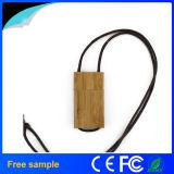 Mecanismo impulsor de madera de la pluma del USB del collar del regalo agradable de las muchachas
