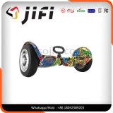 10inchesタイヤが付いている2つの車輪の電気漂うスクーター