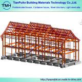 研修会または倉庫のための溶接された鉄骨構造の製造