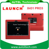 2017 el último lanzamiento resistente original X431 PRO3 del explorador del carro de la PC WiFi/Bluetooth de la tablilla del lanzamiento X431 PRO3 10.1 ''