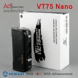 Neue Ankunft Evolv DNA75 Kasten-MOD Hcigar Vt75 der Batterie-26650 Batterie und 18650