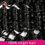 加工されていない卸し売りバージンのRemyのペルーに人間の毛髪の編むこと