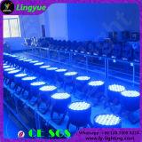 120X3W RGBW DMX cambio de colores de iluminación LED PAR64