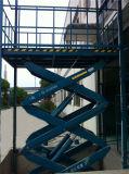 Scissor hydraulische materielle elektrische 2ton Aufzug-Gerät (SJG2-9)