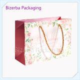 Bolsa de empaquetado impresa aduana del regalo del papel revestido