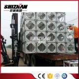 Il fascio quadrato del bullone/vite della lega di alluminio di Shizhan 400*4000mm con il triangolo rinforza il piatto