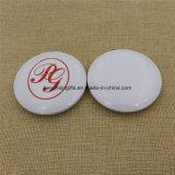 Logotipo personalizado Ronda de doble cara espejo de maquillaje cosmético