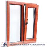 Алюминиевое окно наклона и поворота