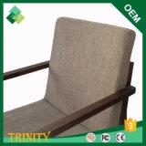 チーク(ZSC-15)の湾のための現代簡単な喫茶店の椅子