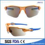 La bonne qualité folâtre le logo fait sur commande de vente fou UV400 de lunetterie