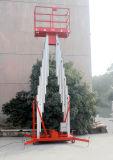 12メートルのアルミ合金の移動式空気マスト作業プラットホーム(GTWY12-200SA)