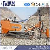 Plate-forme de forage Hfg-54 de mini mine de marteau de DTH en vente chaude