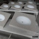 أبيض صلبة سطحيّة حجارة مطبخ [كونتر توب] ([ك1701092])