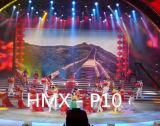 Farbenreiche bekanntmachende Innenbildschirmanzeige LED-P10 (LED-Bildschirm, LED-Zeichen)