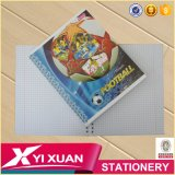 Caderno espiral personalizado da escola artigos de papelaria feitos sob encomenda baratos (GV)