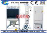 Máquina do Sandblasting para calças de brim e o tratamento de superfície das calças