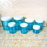 [فدا] [4وز] [6وز] [10وز] [16وز] [22وز] جانب مستقيمة زجاجيّة طعام مرطبان مع غطاء بلاستيكيّة لأنّ عمليّة بيع