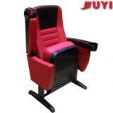도매 공장 가격 영화관 의자 가죽 외부 덮개 높은 반동 갯솜 PP 팔걸이 나무와 가죽 접는 의자