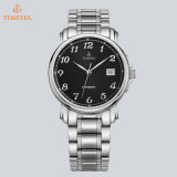Ledernes oder Stahlband-Saphir-Glas überwacht Mann-Luxuxmarke automatisches Watch72202