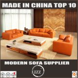 Alta qualità di cuoio sezionale Furniuture del sofà della Doubai 123
