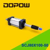 Dopow Scj80X100-50 실린더 압축 공기를 넣은 실린더