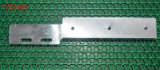 Hohe Präzision CNC-maschinell bearbeitendes Aluminiumteil mit Zink-Überzug