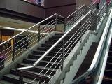 Großhandelsbefestigungsteil-Geländer geschweißtes Gefäß des qualitäts-Edelstahl-304 dekoratives des Gebäude-316