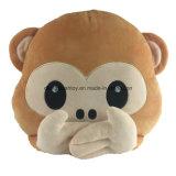 プラシ天のEmojiの枕卸売の習慣はおもちゃの枕をからかう