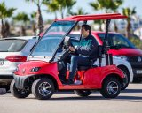 CEE Aprovado 2 Pessoa Low Speed ​​Street Legal Electric Car ( DG- LSV2 )