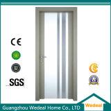 Personalizar a porta nivelada laminada do MDF do PVC película interna (WDH09)