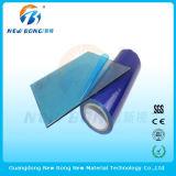 De blauwe Zelfklevende Films van het Polyethyleen van de Kleur voor Hoge Lichte Plastic Delen