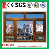 Guichet en aluminium de tissu pour rideaux de double vitrage de qualité
