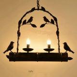 De uitstekende Unieke Creatieve Industriële Hangende Lamp van het Decor van de Koffiebar van de Vogel