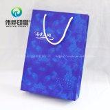 Bolso de papel respetuoso del medio ambiente del regalo para la promoción del anuncio