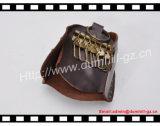 Держатель ключа формы кожаный куртки, кожаный держатель ключа автомобиля