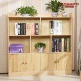 現代デザイン固体木の子供の寝室の本箱(GSP9-033)