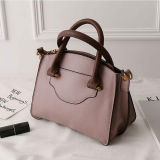 대중적인 상표 디자인 큰 수용량 여자 부대 숙녀 Emg5139를 위한 최고 판매 진짜 가죽 운반물 어깨에 매는 가방