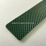 Bande de conveyeur de PVC de diamant de vert de prix usine de constructeur de la Chine
