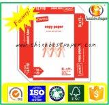 광도 ISO 98% 75GSM 복사 용지 또는 사무실 A4 80GSM