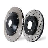Les pièces de rechange d'euro véhicule ont peint le disque de frein de série