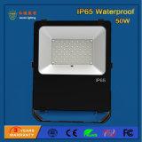 luz de inundação ao ar livre do diodo emissor de luz de 50W 110lm/W