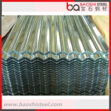 Galvanized Galvalume Alu Steel Zinc Folha de telhado ondulado