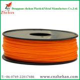 Filament 3D orange des HANCHES 1.75mm de matériel de support