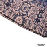 Mujeres de Srta. You Ailinna 101370 más la alineada de lino floral de la talla con el cordón